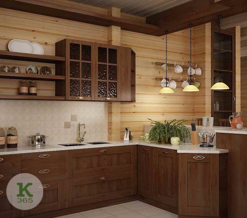 Кухня из бука Ротонда артикул: 100801