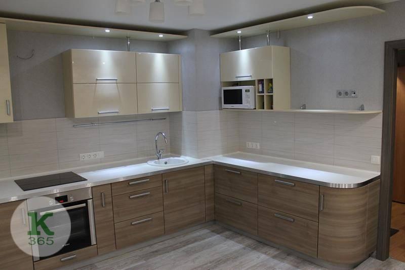 Кухня угловая левая Кофе с молоком артикул: 000104588