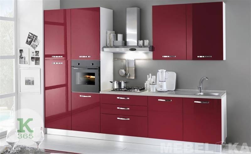 Красная кухня Ханна Вуд артикул: 156800