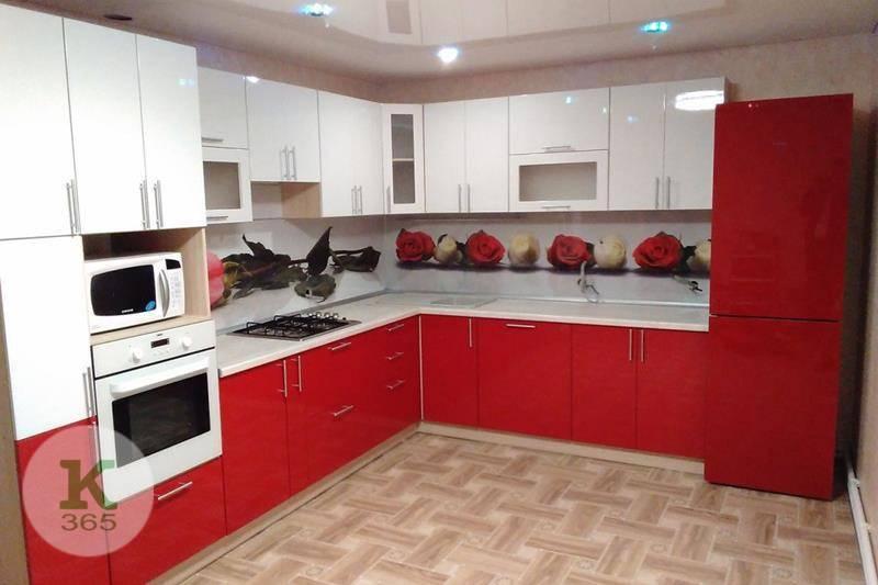 Красная кухня Ева артикул: 160178