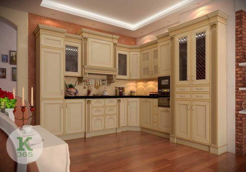 Кухня белая с золотом Атика артикул: 174050