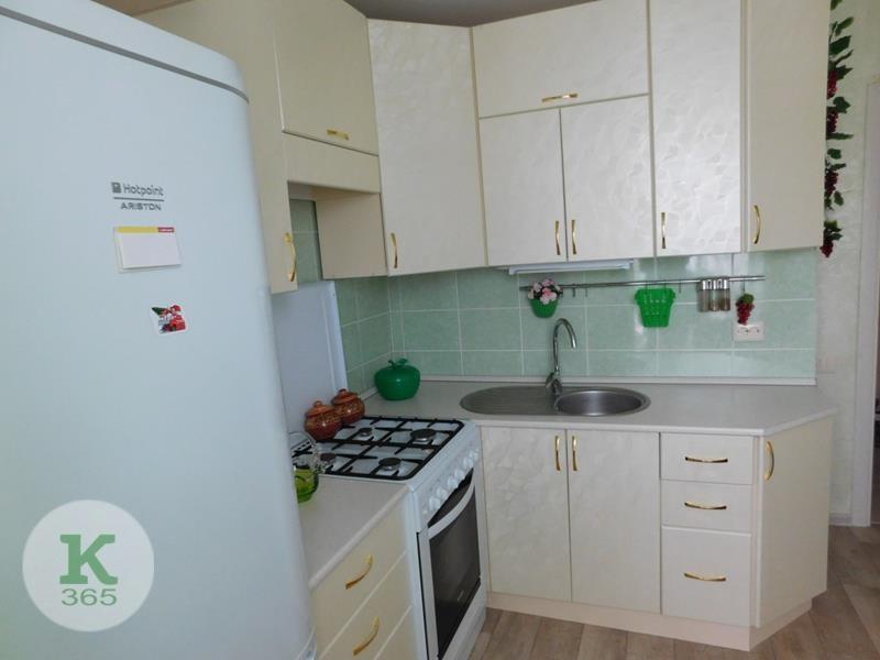 Кухня белая с золотом Браво артикул: 00018306