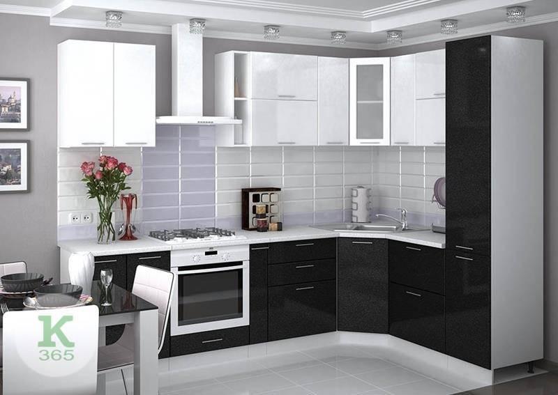 Черно-белая кухня Турин Грис артикул: 329672