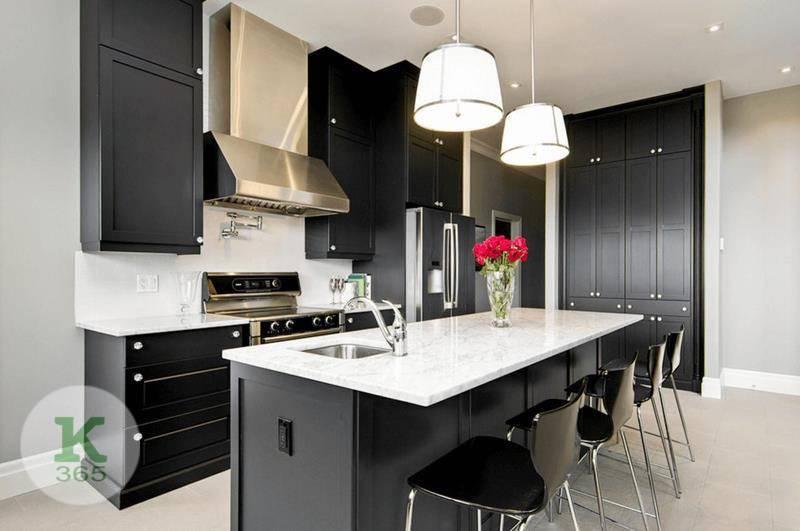 Черно-белая кухня Бейз артикул: 330485