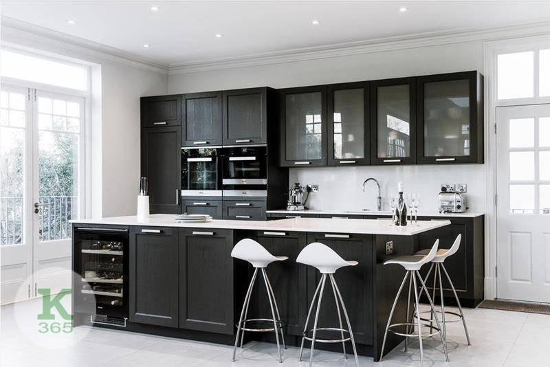 Черно-белая кухня Соня артикул: 333745