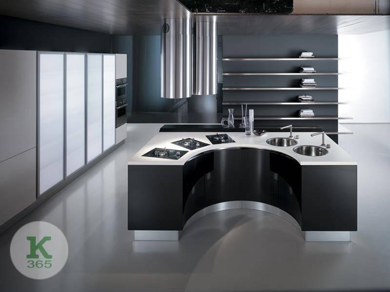 Черно-белая кухня Луминара артикул: 337021