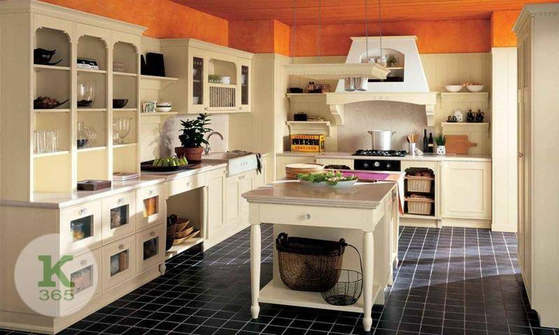Кухня с открытыми полками Джульетта Квадро артикул: 356168