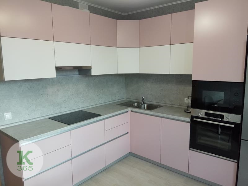 Кухня угловая левая Зима артикул: 000356767