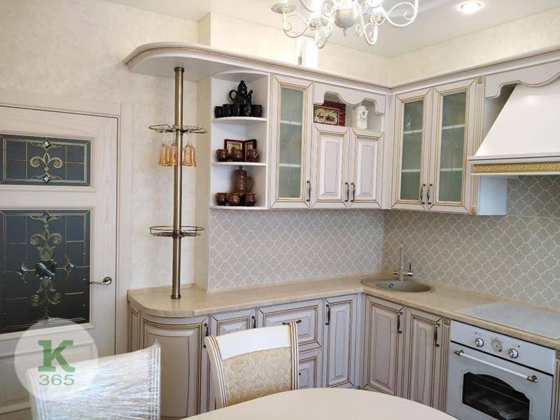 Кухня белая с золотом Бланка артикул: 000401449