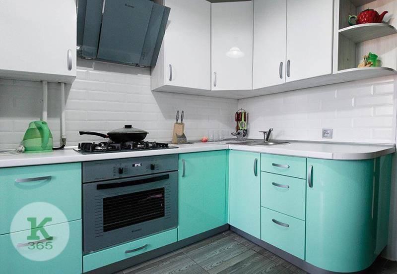 Бирюзовая кухня Лофт артикул: 49613