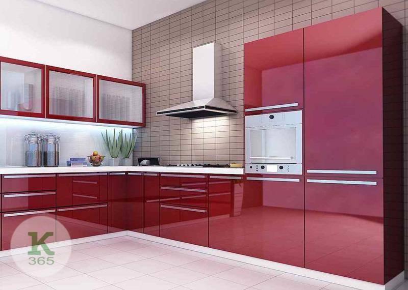 Бордовая кухня Элен артикул: 50881