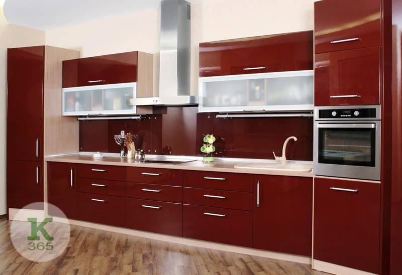 Бордовая кухня Стелла Нова артикул: 51200