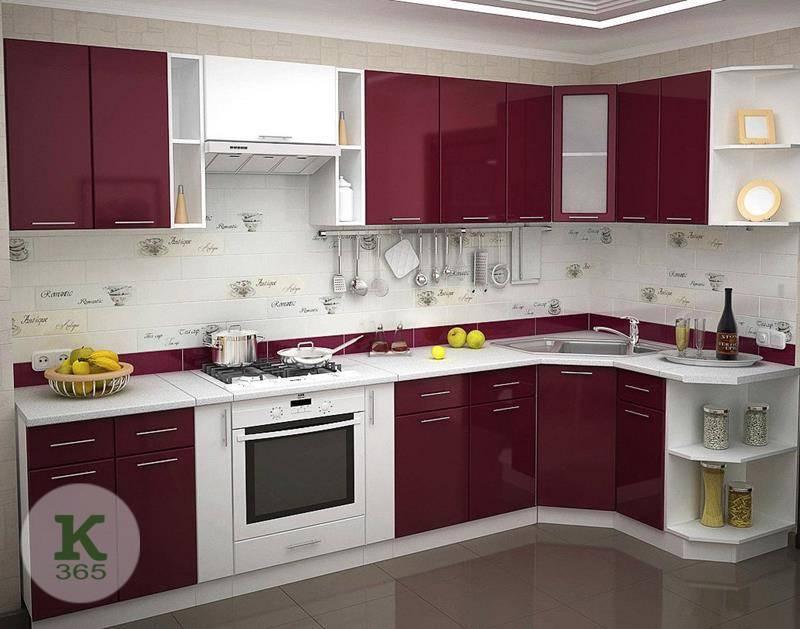 Бордовая кухня Алина артикул: 52813