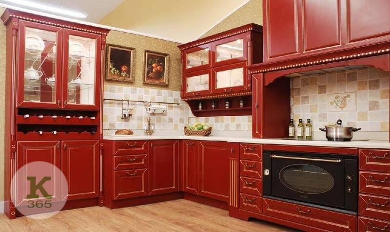 Бордовая кухня Сопрано артикул: 55112