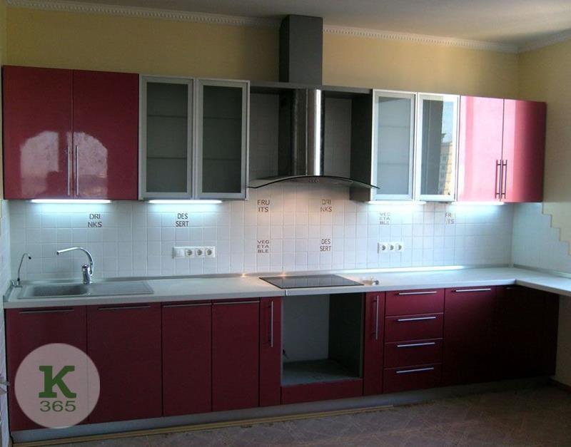 Бордовая кухня Валенсия артикул: 56785