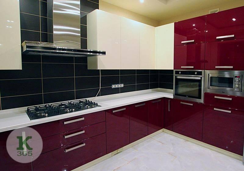 Бордовая кухня Бьянка артикул: 57122