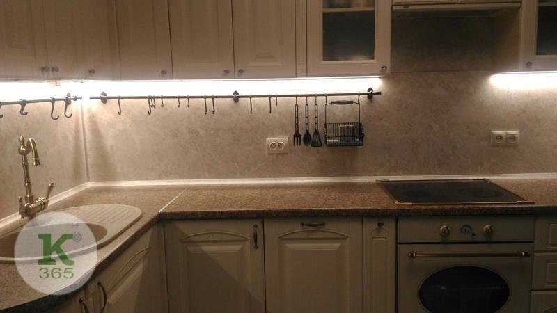 Кухня белая с золотом Неон артикул: 000648347