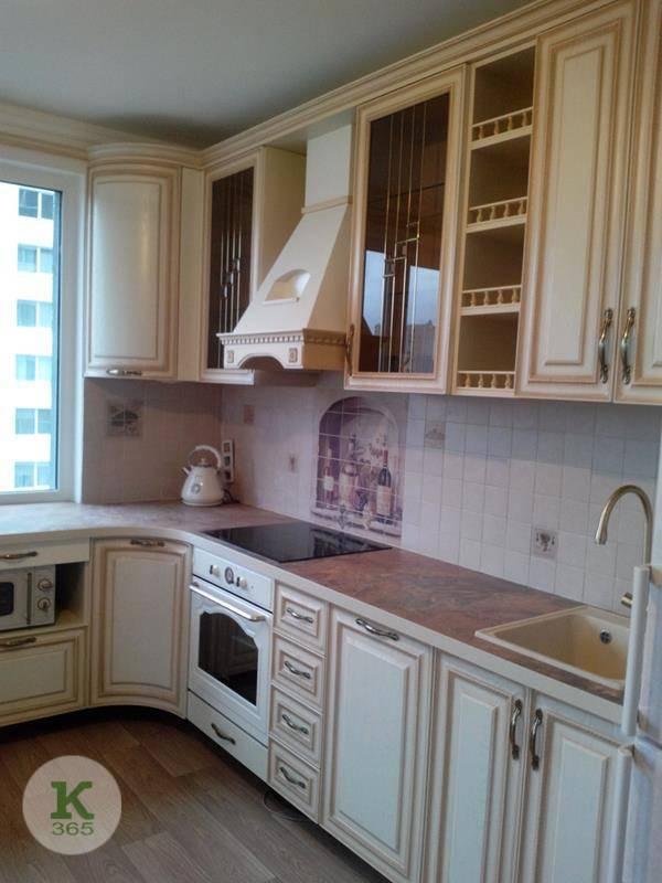 Кухня белая с золотом ВиваФорм артикул: 000896998