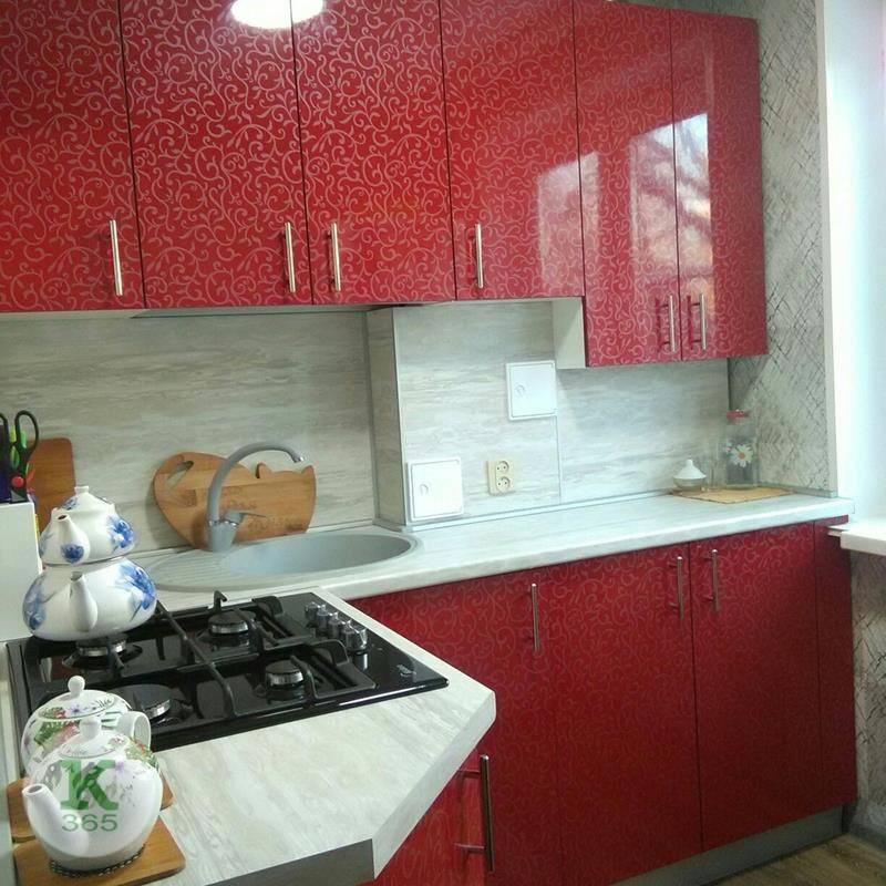 Красная кухня Домус артикул: 0009158