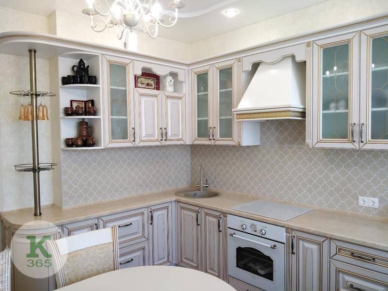 Кухня белая с золотом Юла артикул: 000999800
